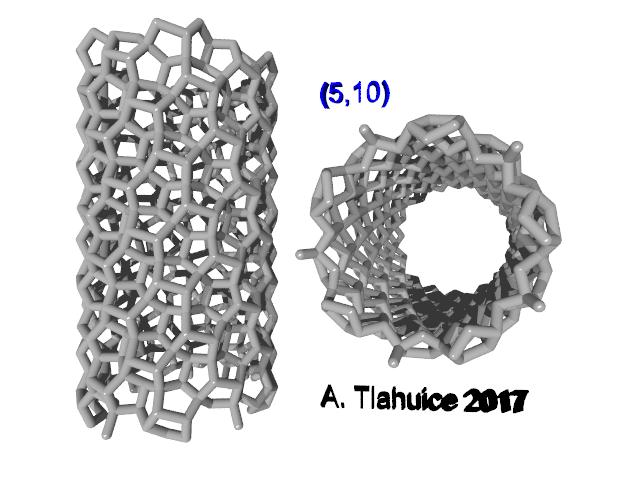 (5,10) penta-graphene CNT